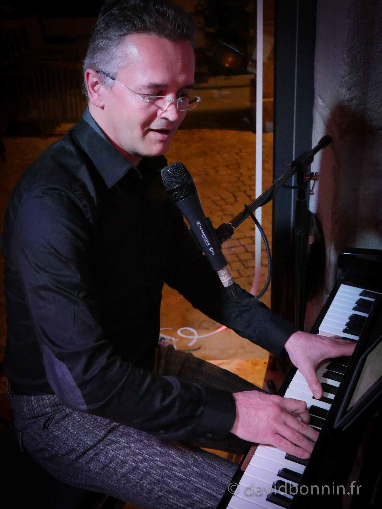 david bonnin - Piano-Bar à l'Epicurial - Chambéry