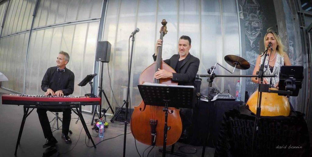 Barbara Zins trio - Villefontaine