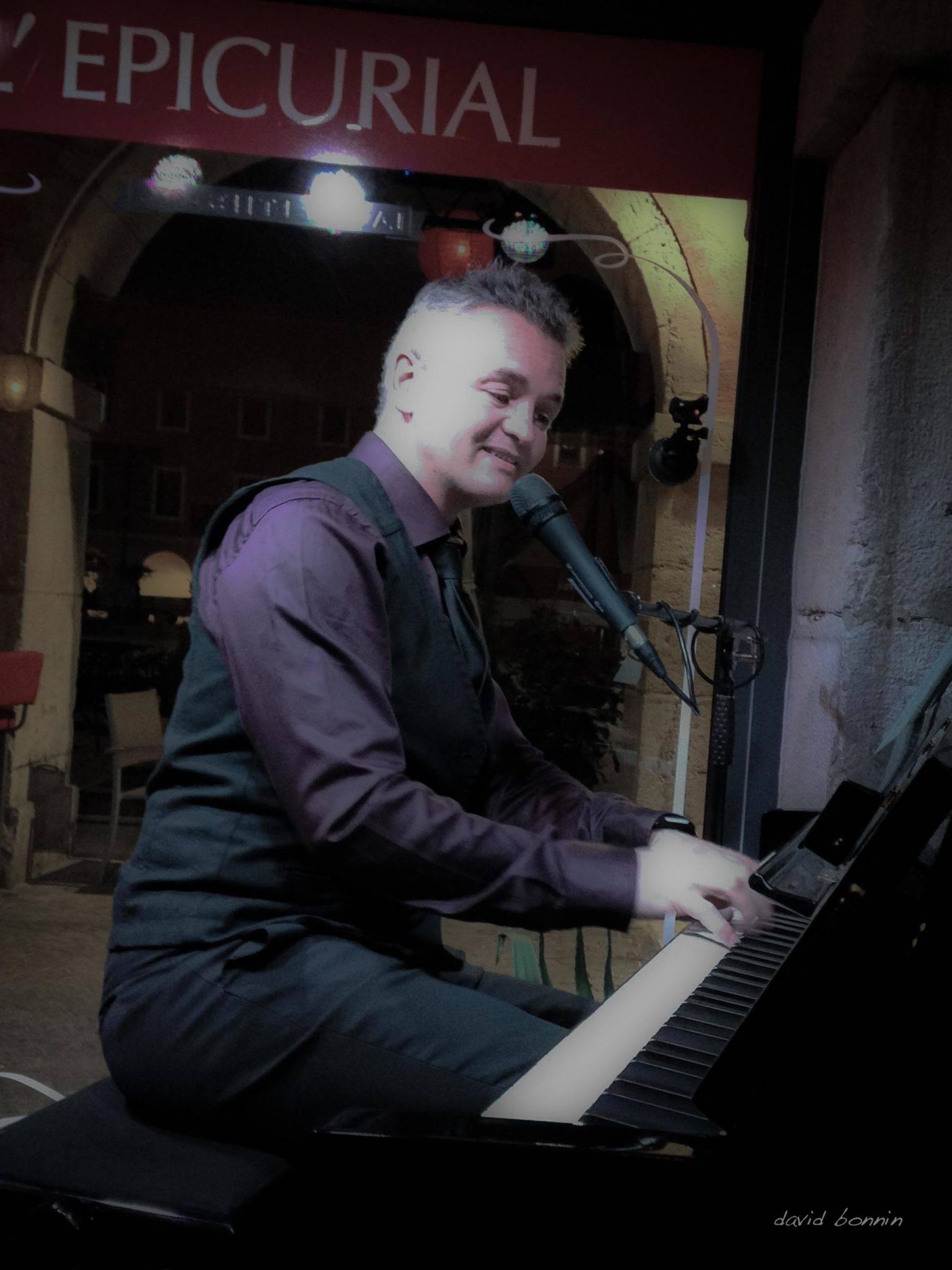 david bonnin – Solo Piano Bar à L'Epicurial – Chambéry