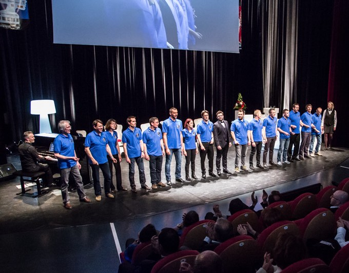 Lauréats 2015 Réseau Entreprendre Savoie