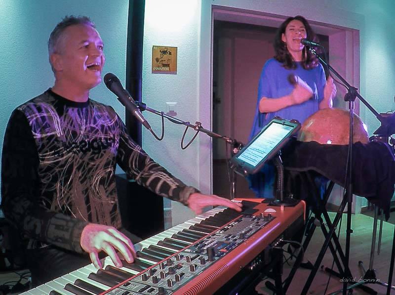 duo Dee & Dandy – Café La Julienne – Plan-les-Ouates, Suisse