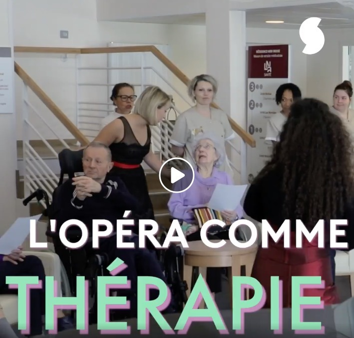 Marine Costa est une soprano qui chante… pour les malades d'Alzheimer