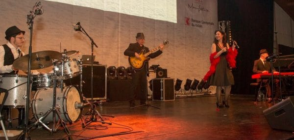 Swingy Bang Band en Concert pour La Fondation La Nuit des Neiges à Crans-Montana