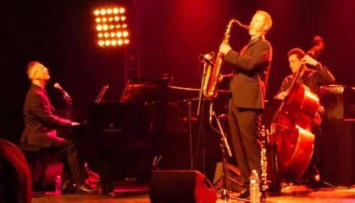 Cool Jazz trio au Summum à Grenoble avec david bonnin pianiste