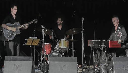 Organic trio avec david bonnin à chambéry pour le festival de jazz