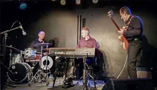 Organic trio avec david bonnin en concert au voiron jazz-club