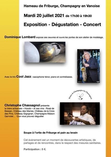 Affiche Cool Jazz trio