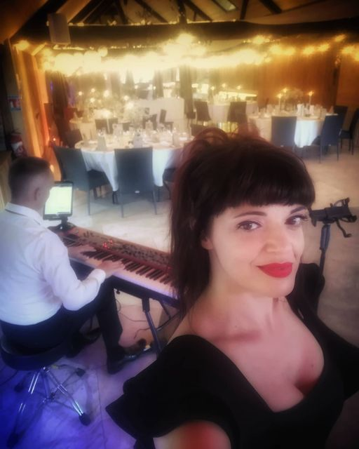 duo sweet mood, avec Bérangère Riggi au chant et David Bonnin au Piano